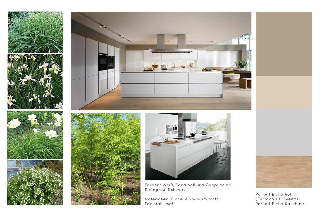 Moodboard Wohnung P Graz - Geidorf  |  Stil, Farben und Materialien