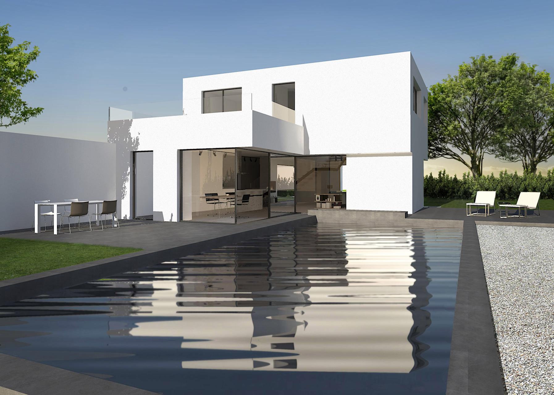 Einfamilienhaus L | Poolterrasse