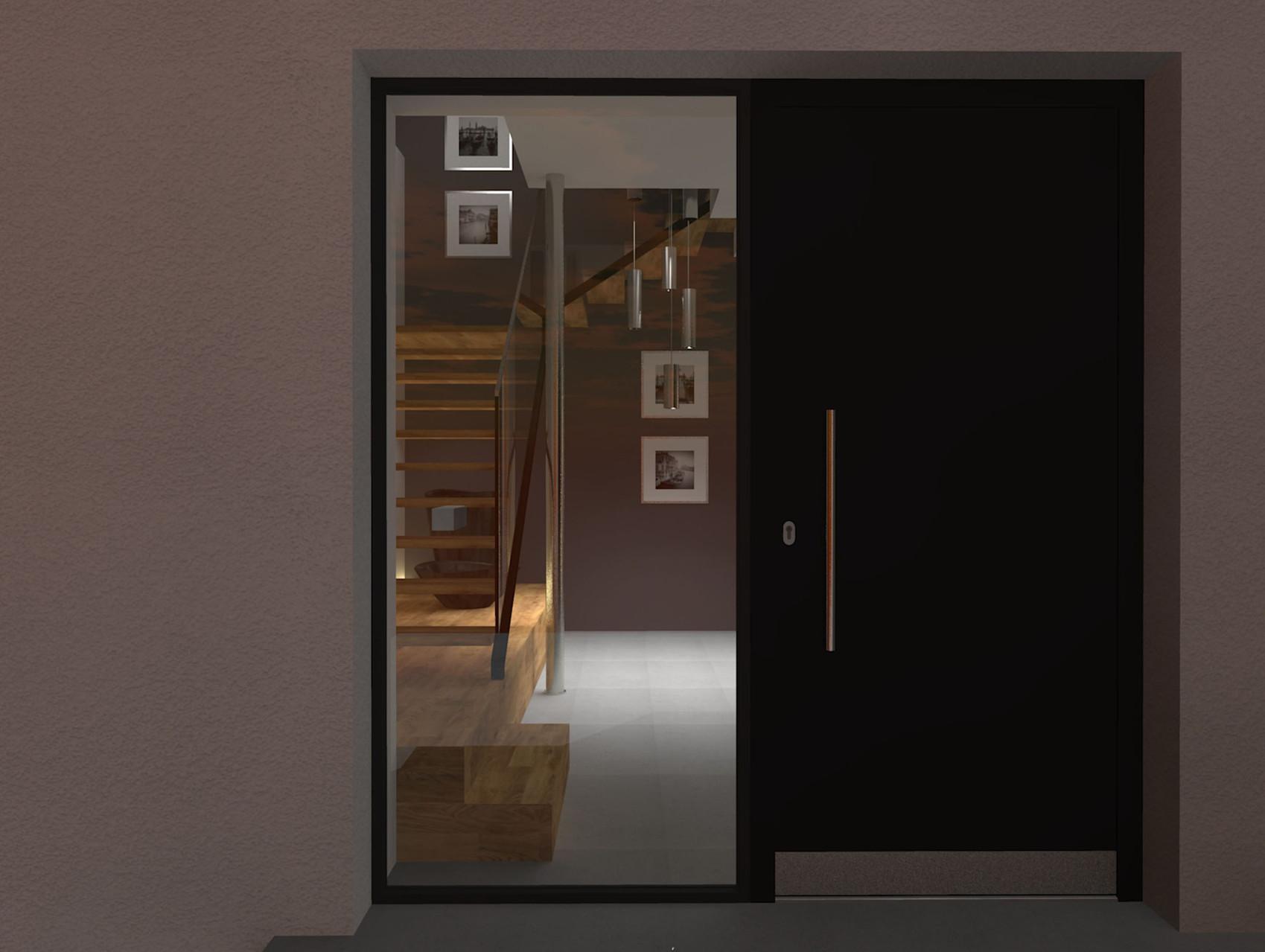 Haus M | Foyer Blick von Haustuer