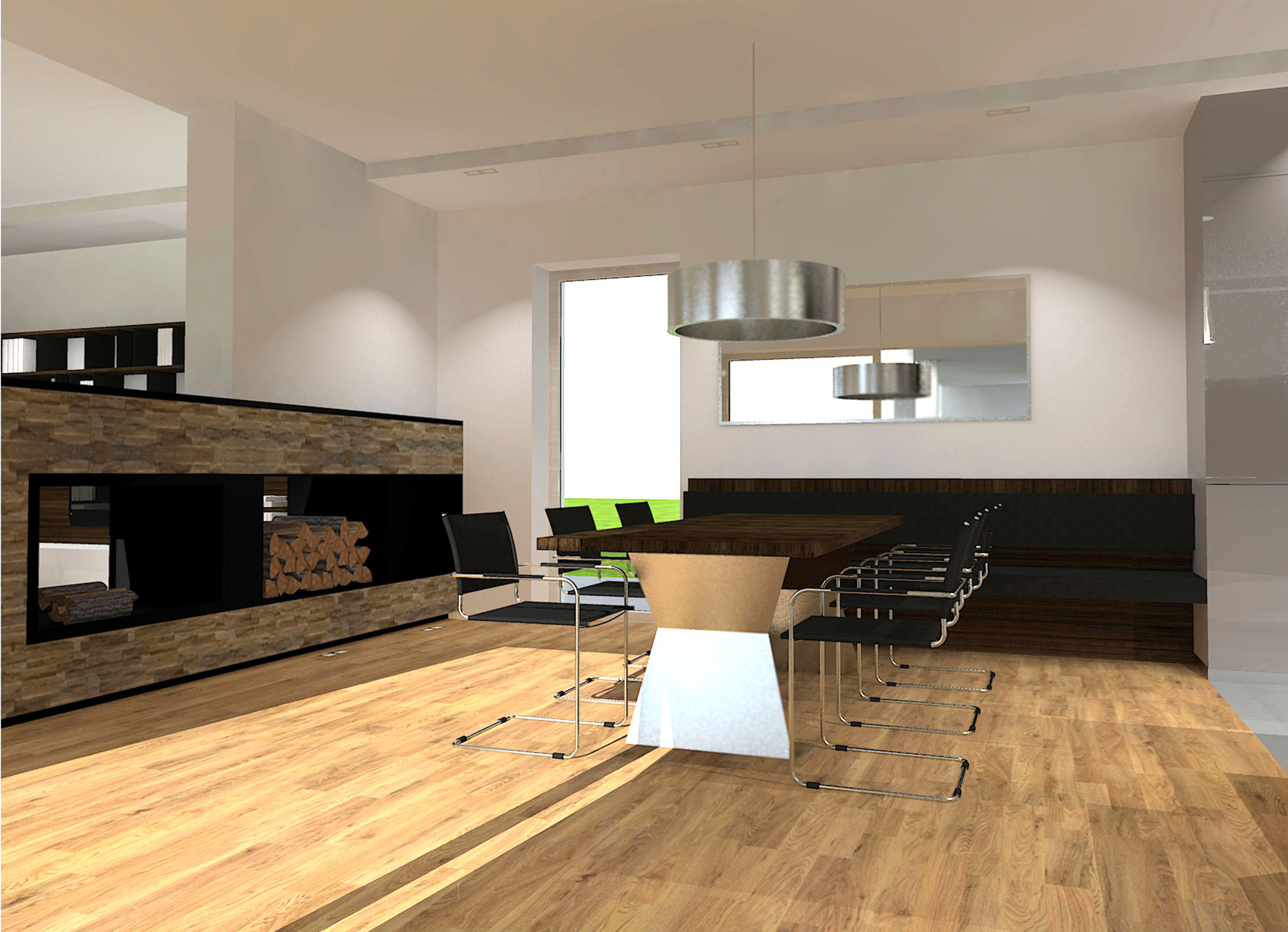 Haus M | Essbereich