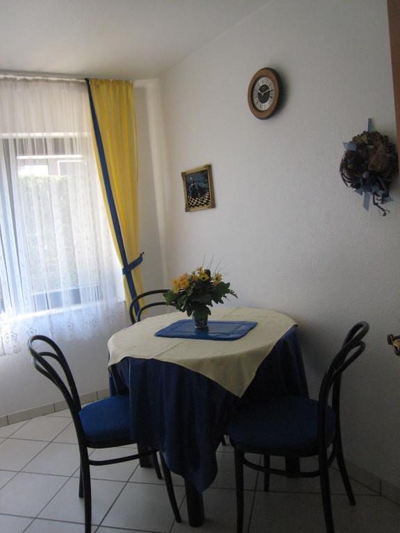 Eßplatz in Wohnküche