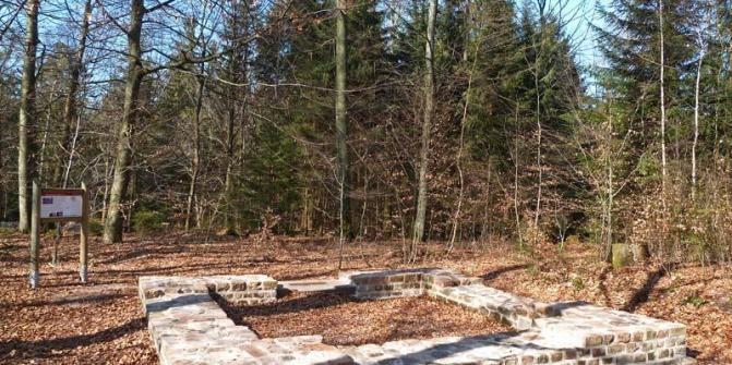 Wachtposten 10/22 Vogelherdschlag - einzigartig an der kompletten Limesstrecke