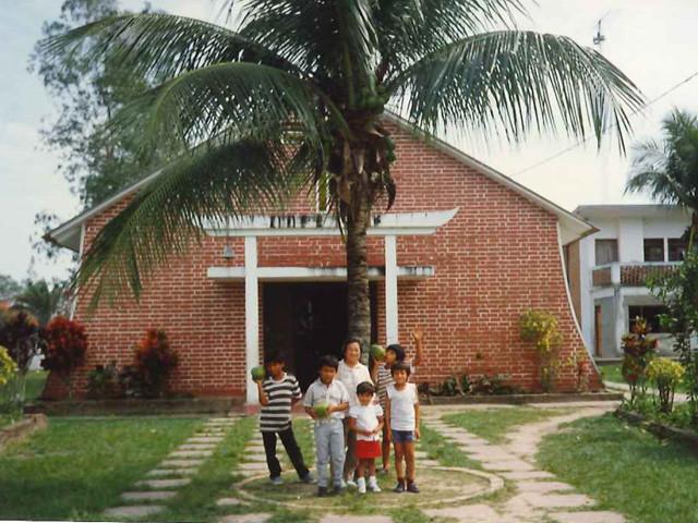 建物は司祭館 イエズス会士が建てたもの