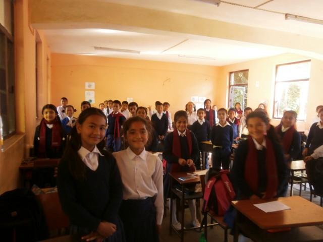 とにかく活気のある印象ながら、授業中は静か。
