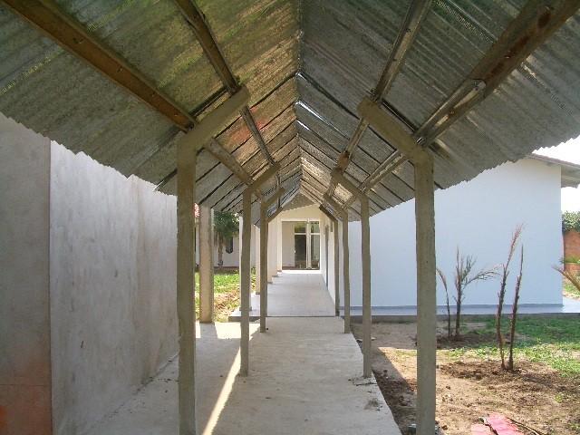 教室の建設中