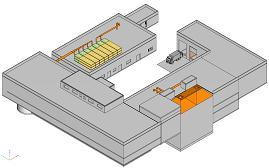 3D-Darstellung vom BMBF-Projekt RRC Qingdao/China