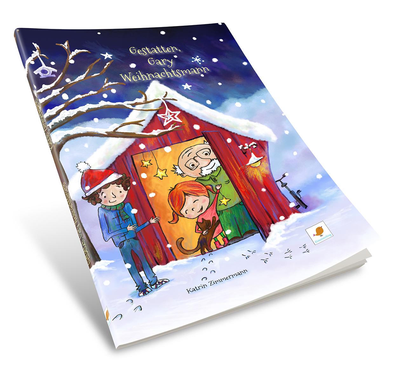 Taschenbuch Gestatten Gary Weihnachtsmann