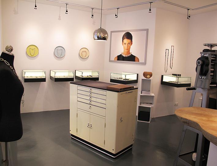 Galerie und Atelier der Goldschmiede Martin Wittwer • Schmuck & Objekt in Regensburg, Gesandtenstrasse 16