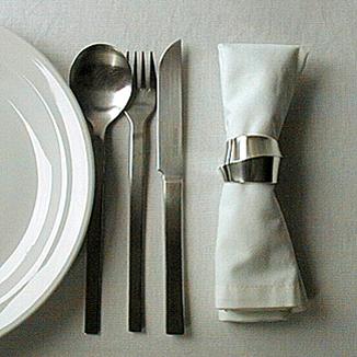 Silber Serviettenringe Unikat
