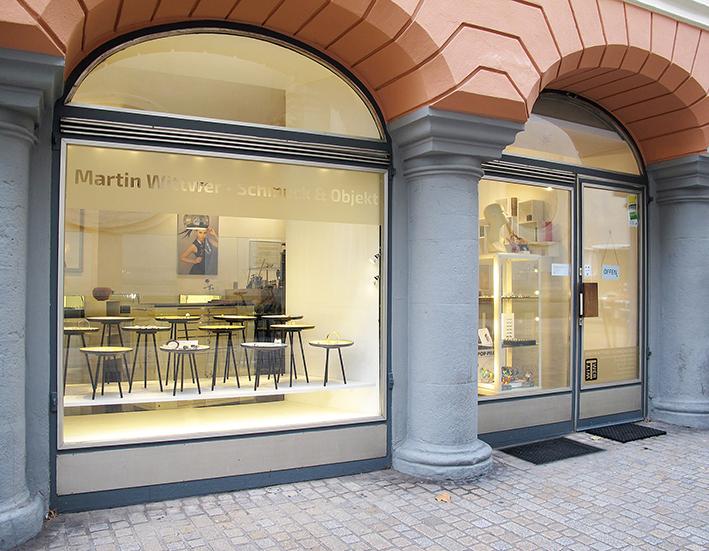 """""""Martin Wittwer • Schmuck & Objekt"""" Atelier und Galerie für Schmuck und ausgewählte Objekte"""