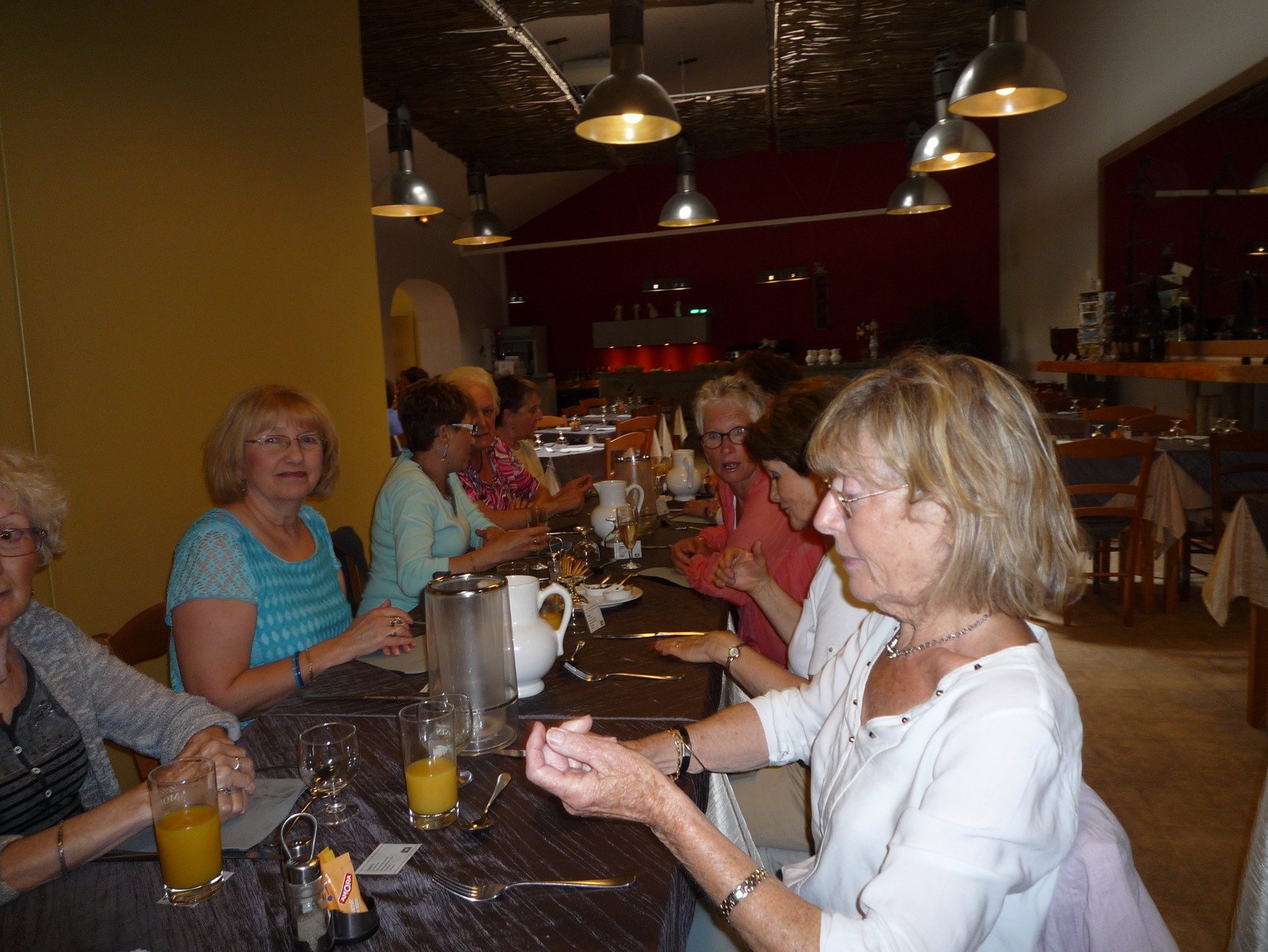 Repas fin d'année à la Pause Gourmande à Pierrelatte 28/05/2015