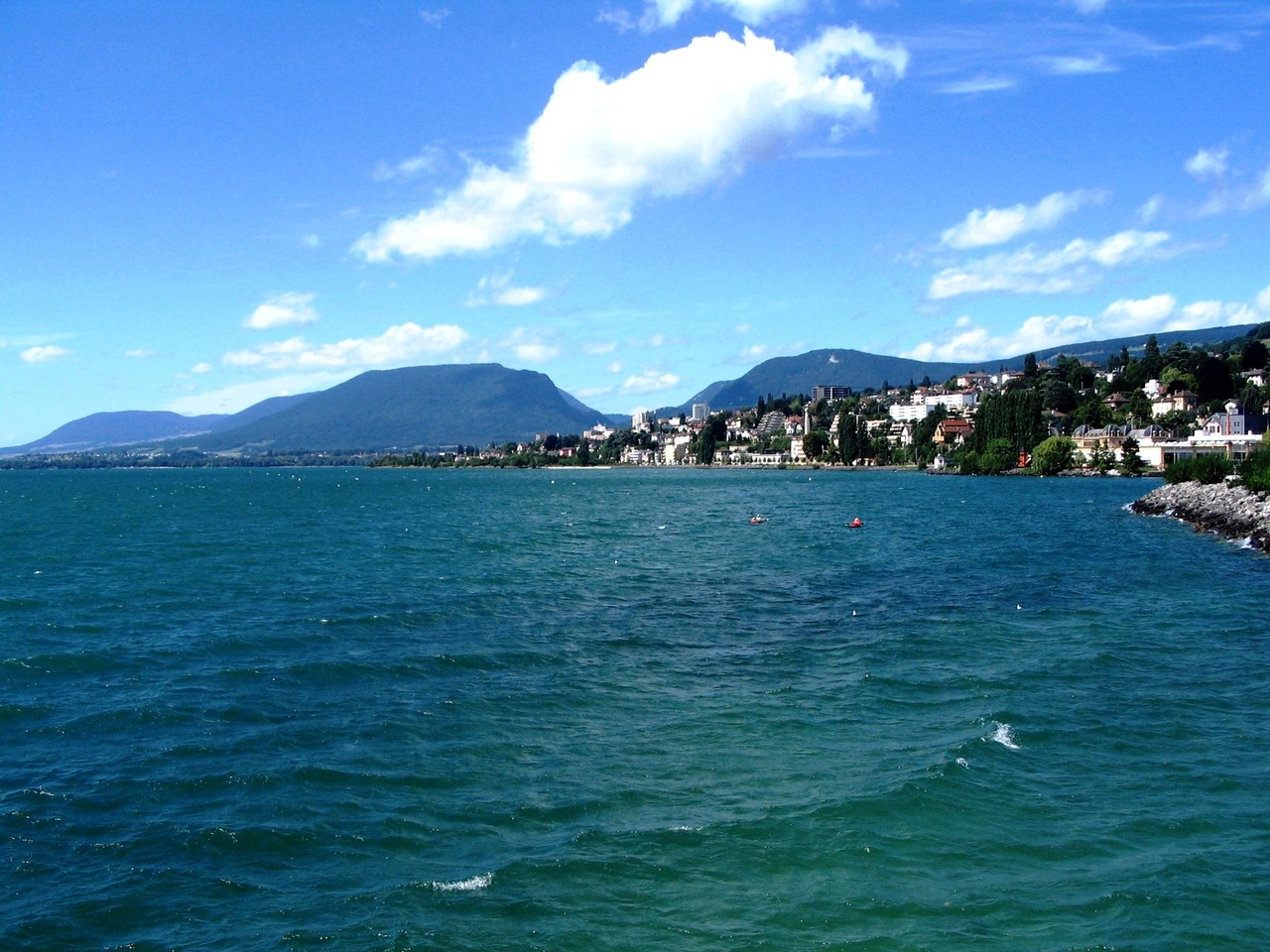Neuchatel Lake - Svizzera