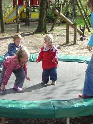 Speeltuin vakantiewoning op rustig park op de Veluwe