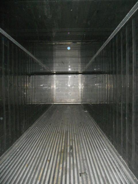 Рефконтейнер Carrier внутри