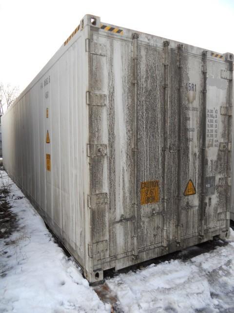 Двери рефконтейнера Carrier