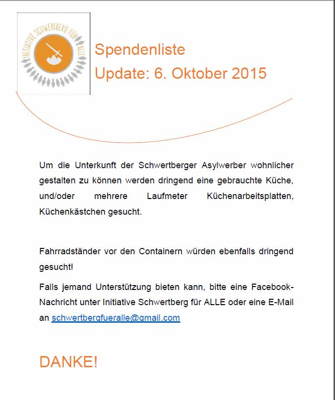 Initiative Schwertberg für Alle - schwertbergfueralles Webseite!
