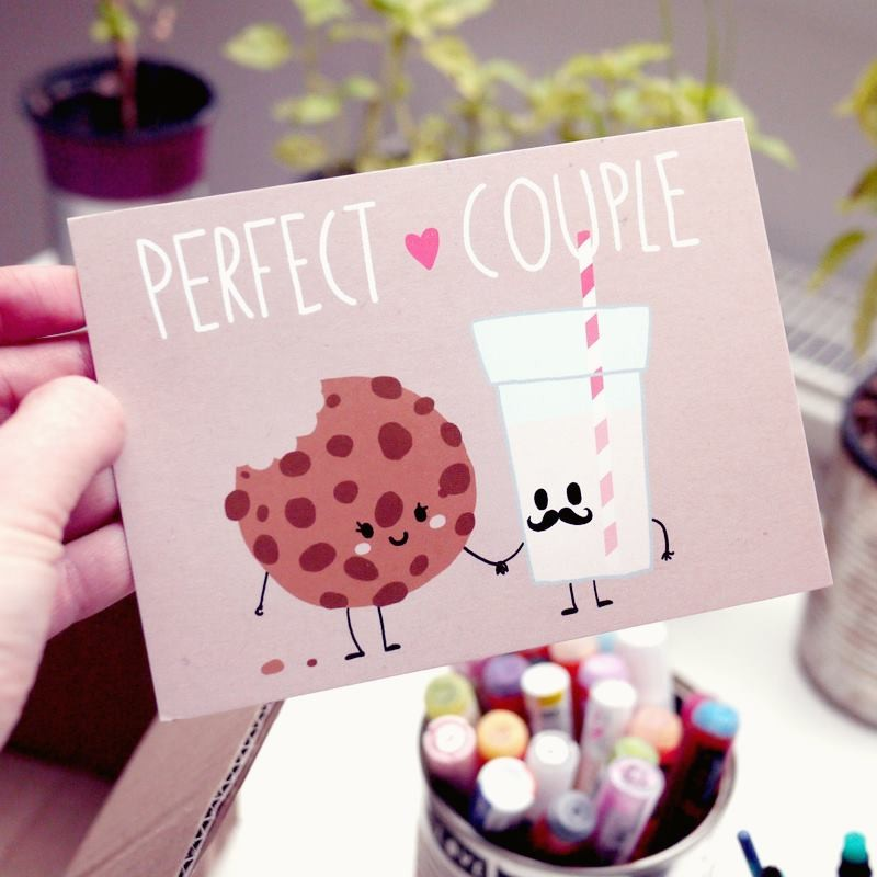 perfect couple card by bobsmade
