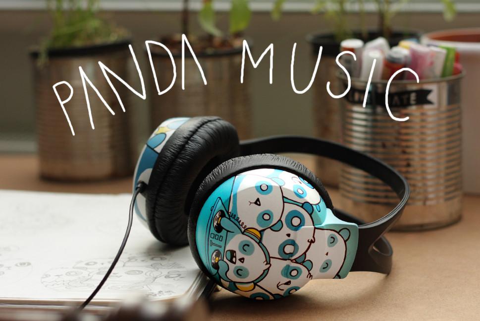 Bobsmade Panda Headphones