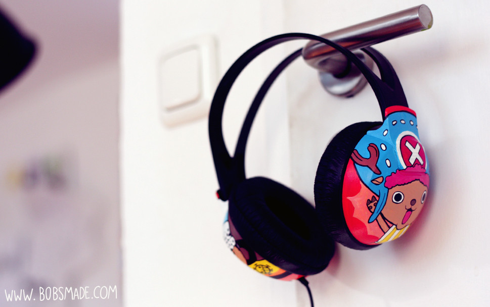 one piece headphones Tony Tony chopper by bobsmade