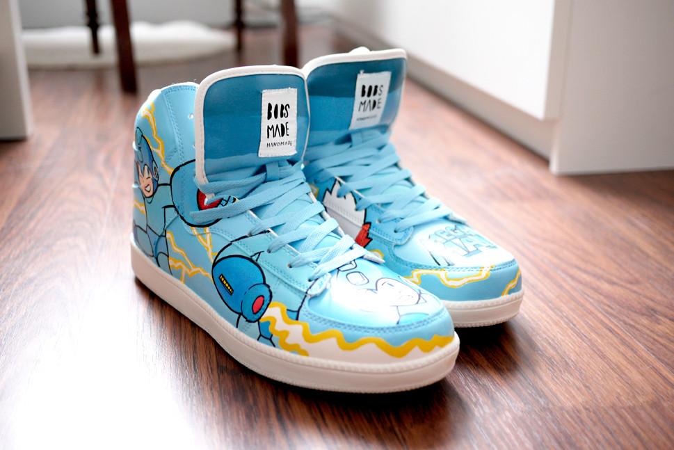 Megaman custom Sneaker - Art \u0026 Custom