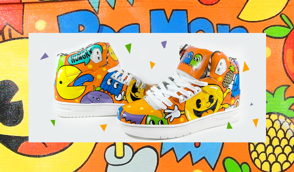 Pac Man Sneaker by bobsmade
