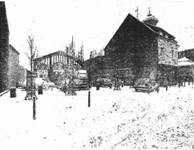 Wasserturm im Jahre 1991