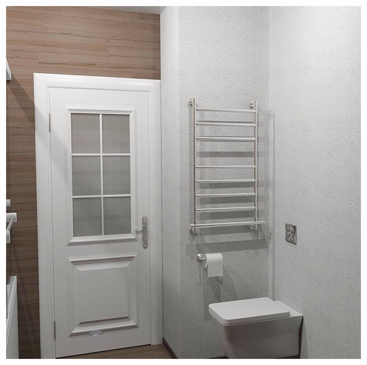 Дизайн интерьеров двухкомнатной квартиры по договору на дизайн проект. Санузел 2.