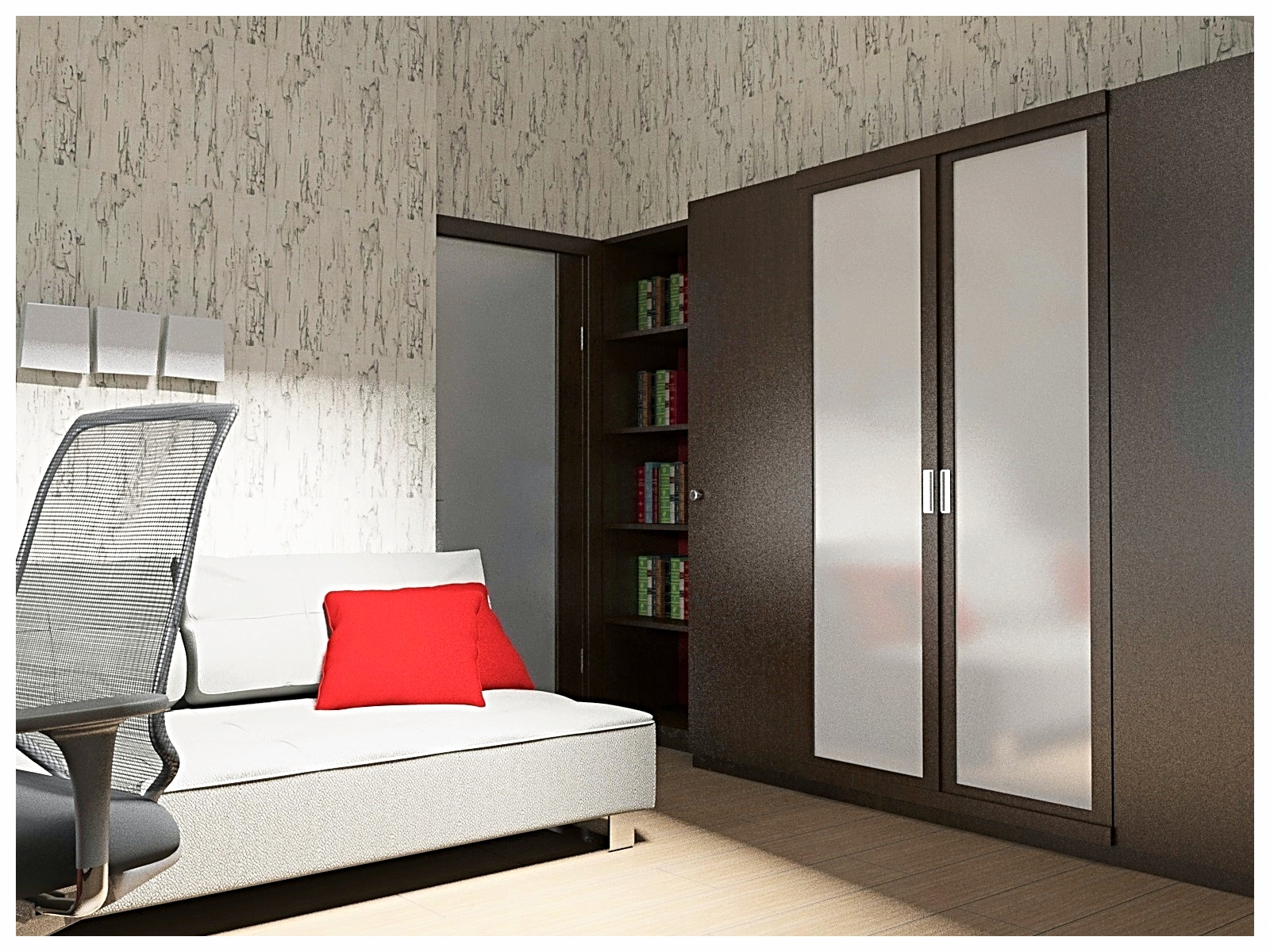 Дизайн интерьеров дома. Комната подростка 1.