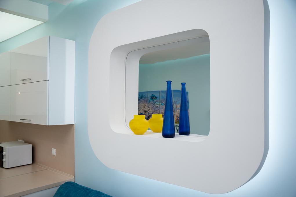 Дизайн интерьеров квартиры-студии, вид 6