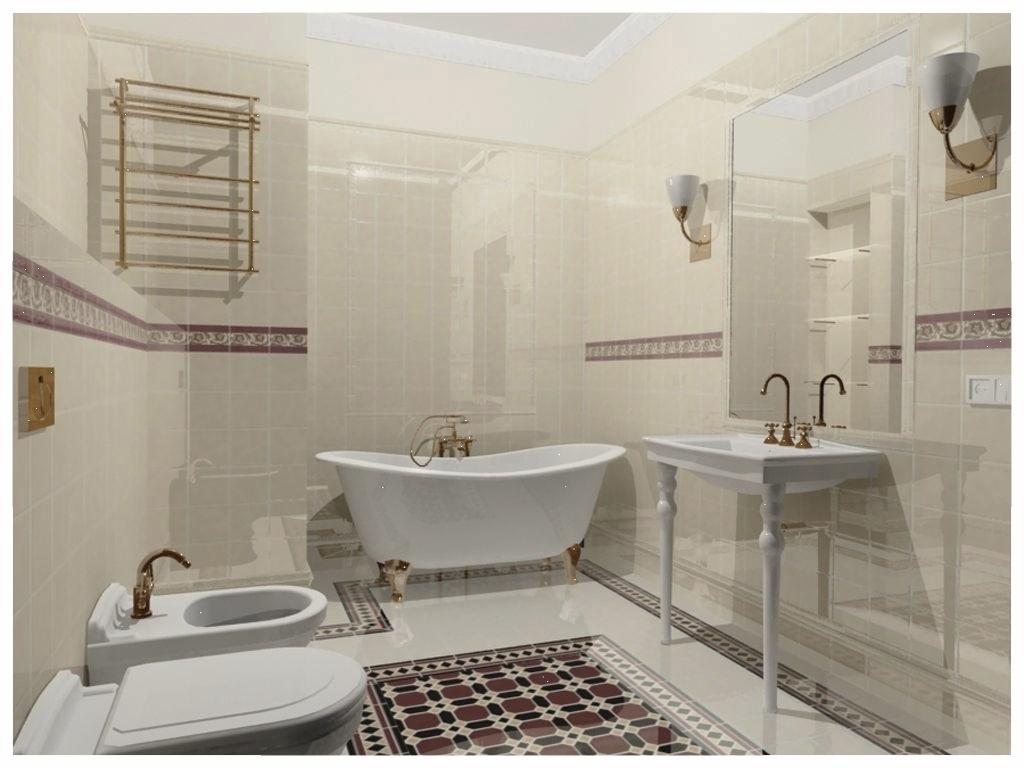 Дизайн интерьеров однокомнатной квартиры. Санузел.