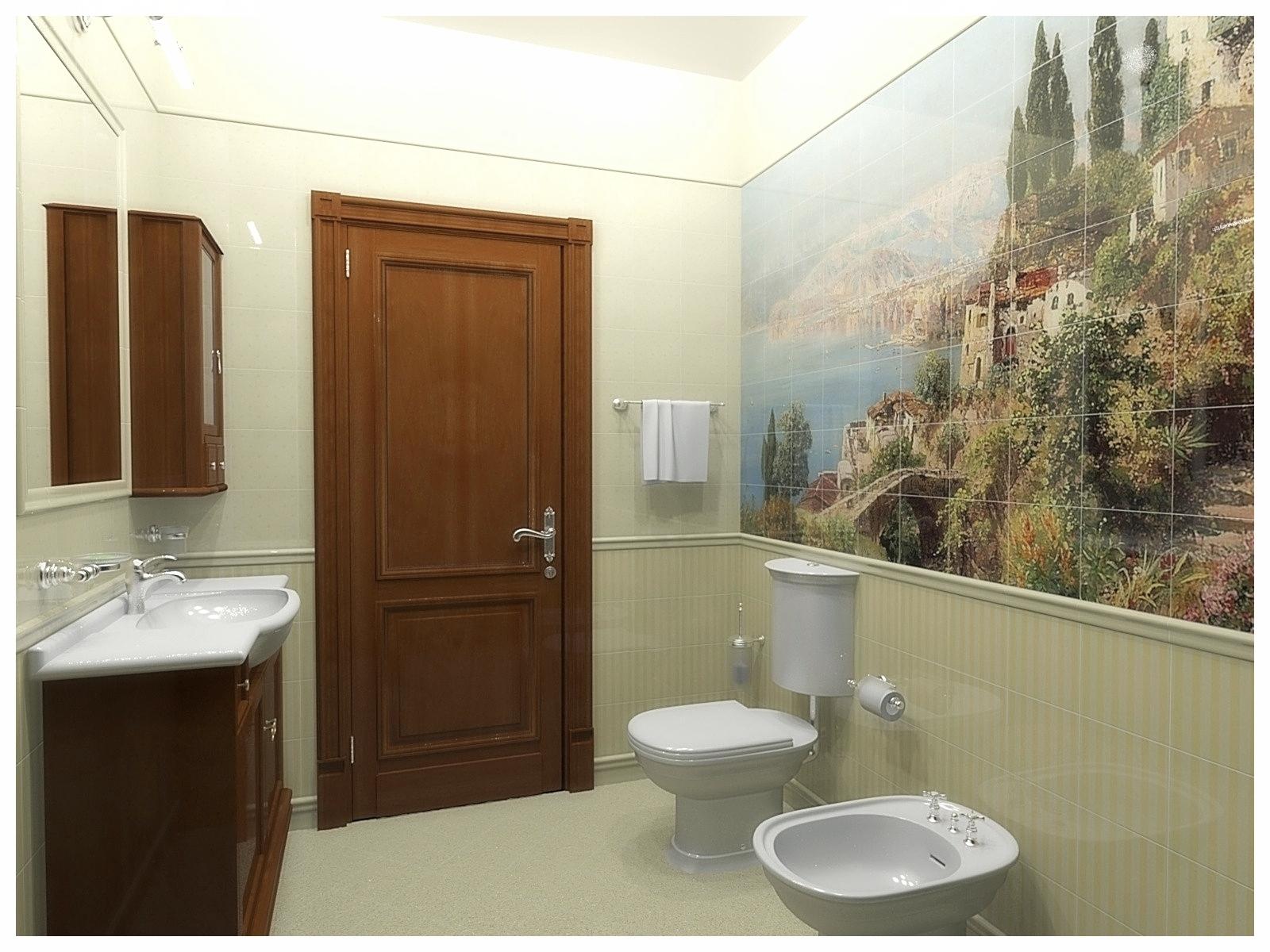 Дизайн интерьеров квартир. Санузел 1.