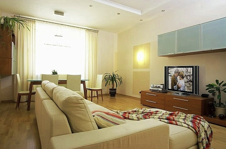 Дизайн интерьера гостиной. Фотография 1