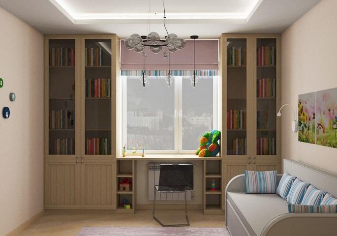 Дизайн интерьера квартиры на ул. Орджоникидзе. Детская