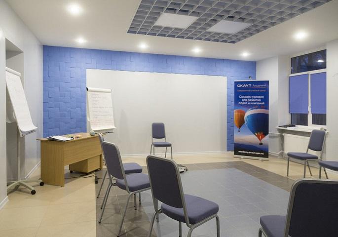Дизайн интерьера учебного центра. Вид 2