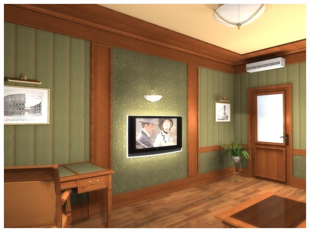 Дизайн интерьеров квартиры. Кабинет 2.