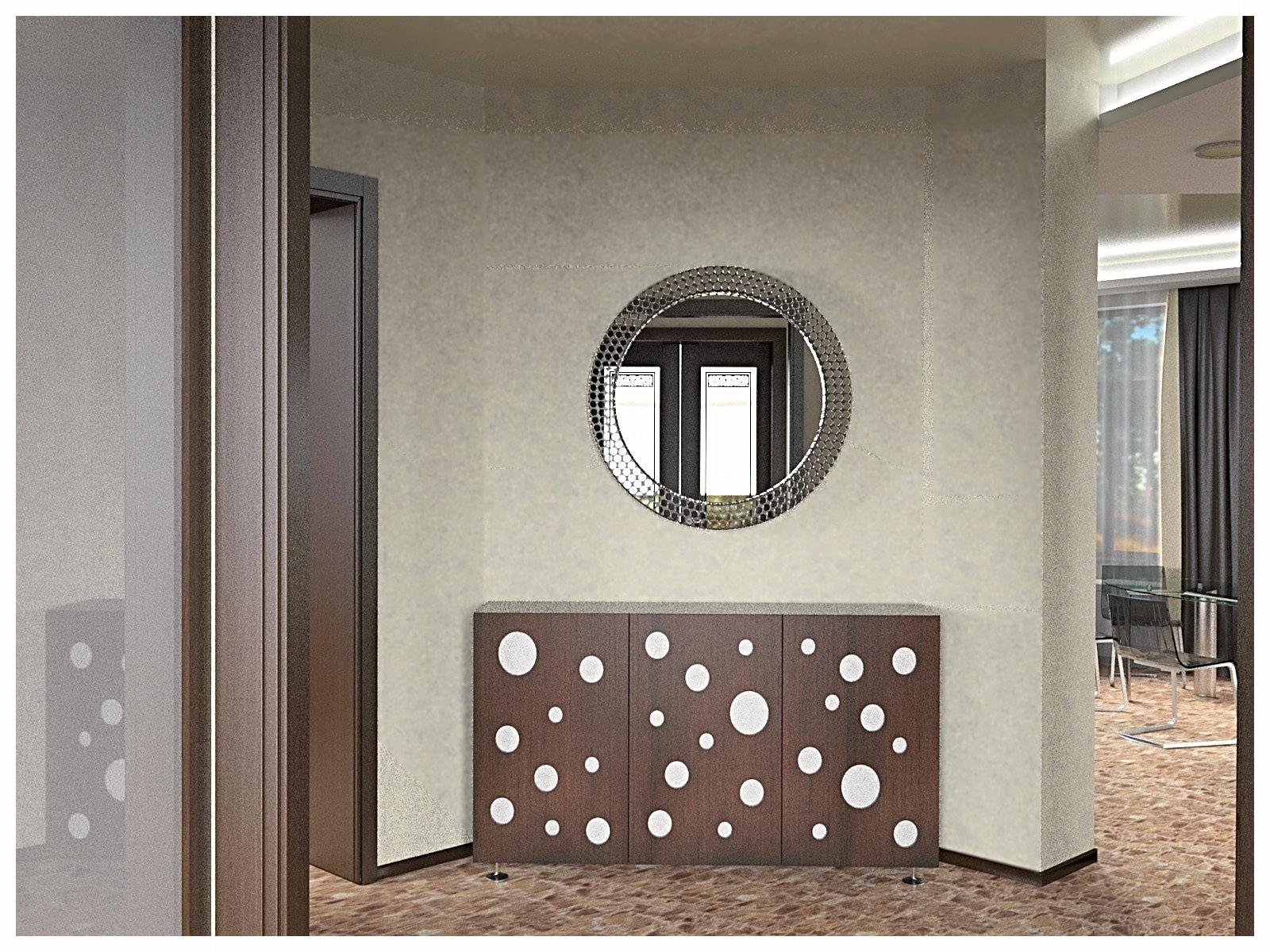 Дизайн интерьеров дома. Холл первого этажа 1.