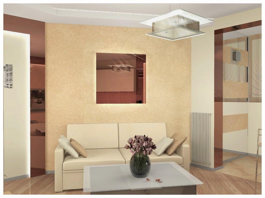 Дизайн интерьеров квартиры-студии 4.