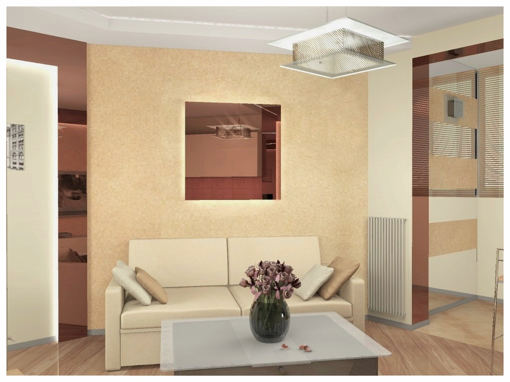 Дизайн интерьеров квартиры-студии 4. по договору на дизайн проект