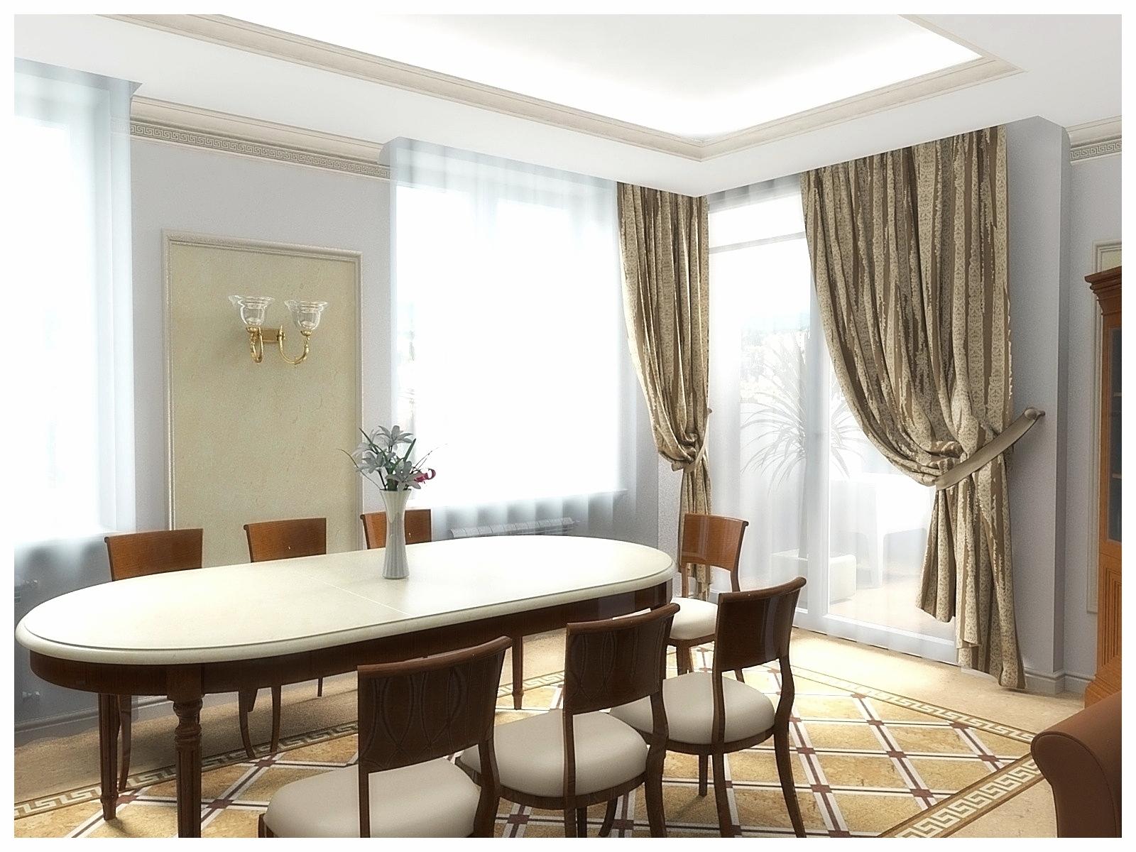 Дизайн интерьеров квартир. Кухня-столовая 2.