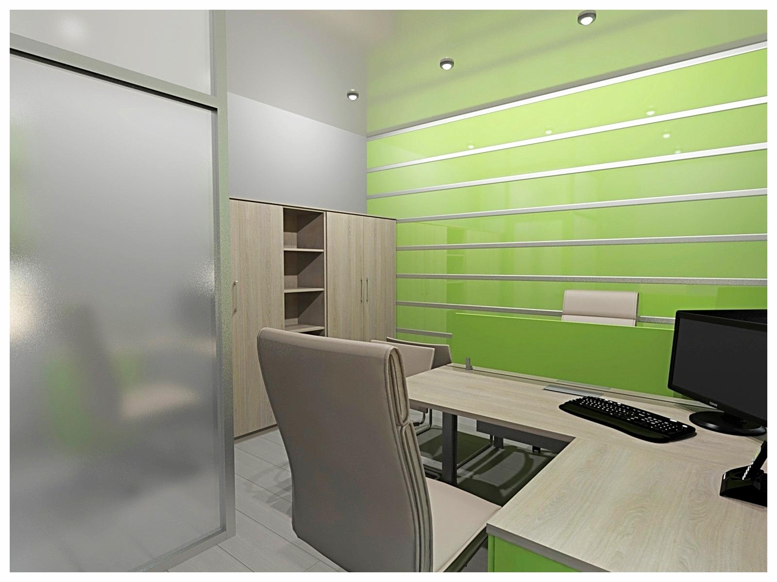 Дизайн интерьеров офиса. Кабинет операционистов 1.