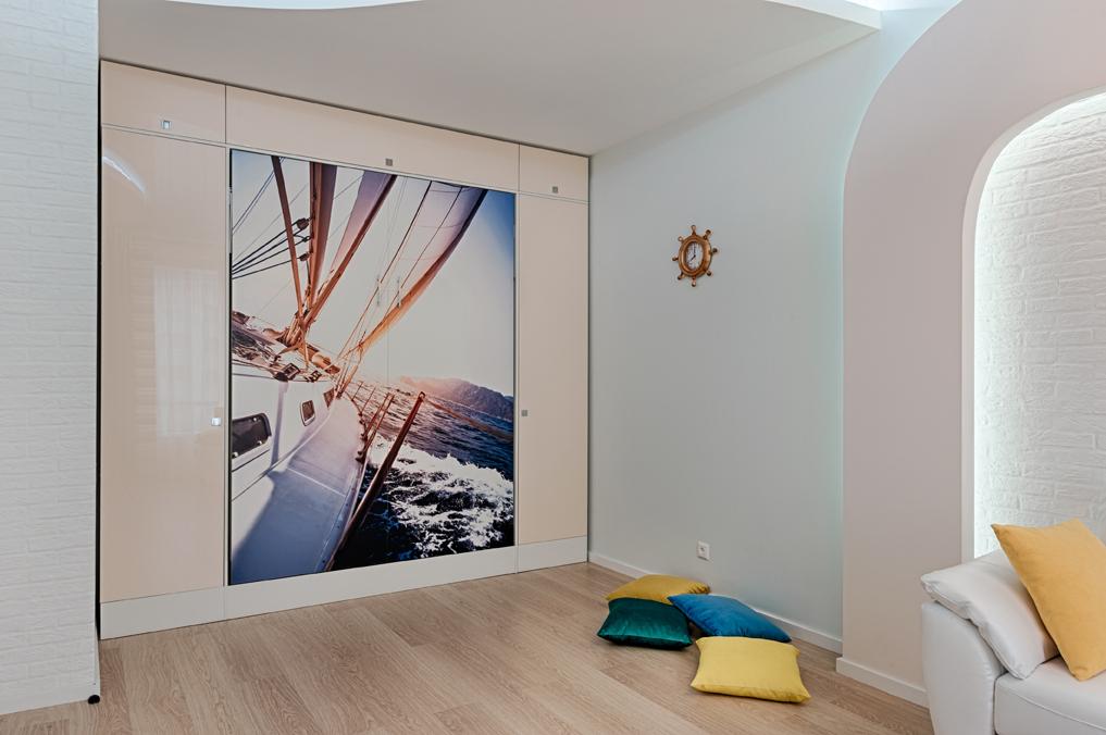 Дизайн интерьера гостиной. Фотография 5