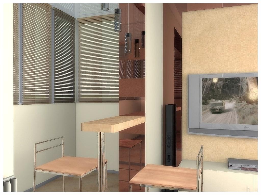 Дизайн интерьеров квартиры-студии 3.