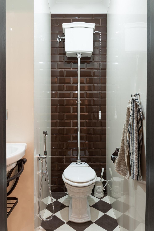 Дизайн интерьера гостевого санузла