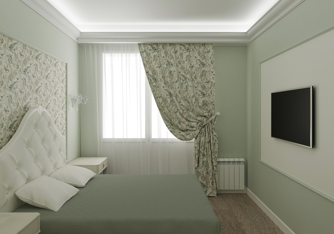 Дизайн интерьера квартиры на Московском пр. Спальня