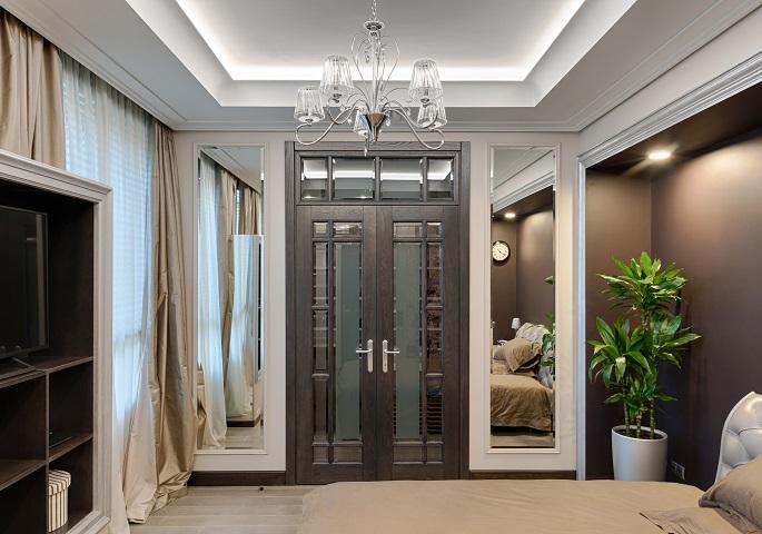 Дизайн интерьера квартиры на Суворовском пр.  Спальня