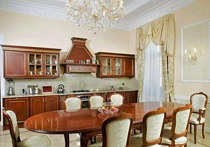 Фотография интерьера столовой