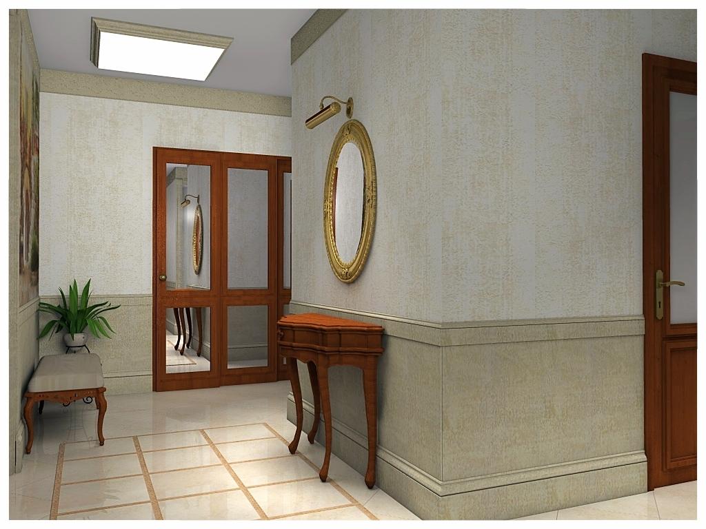Дизайн интерьеров квартиры. Холл 1.