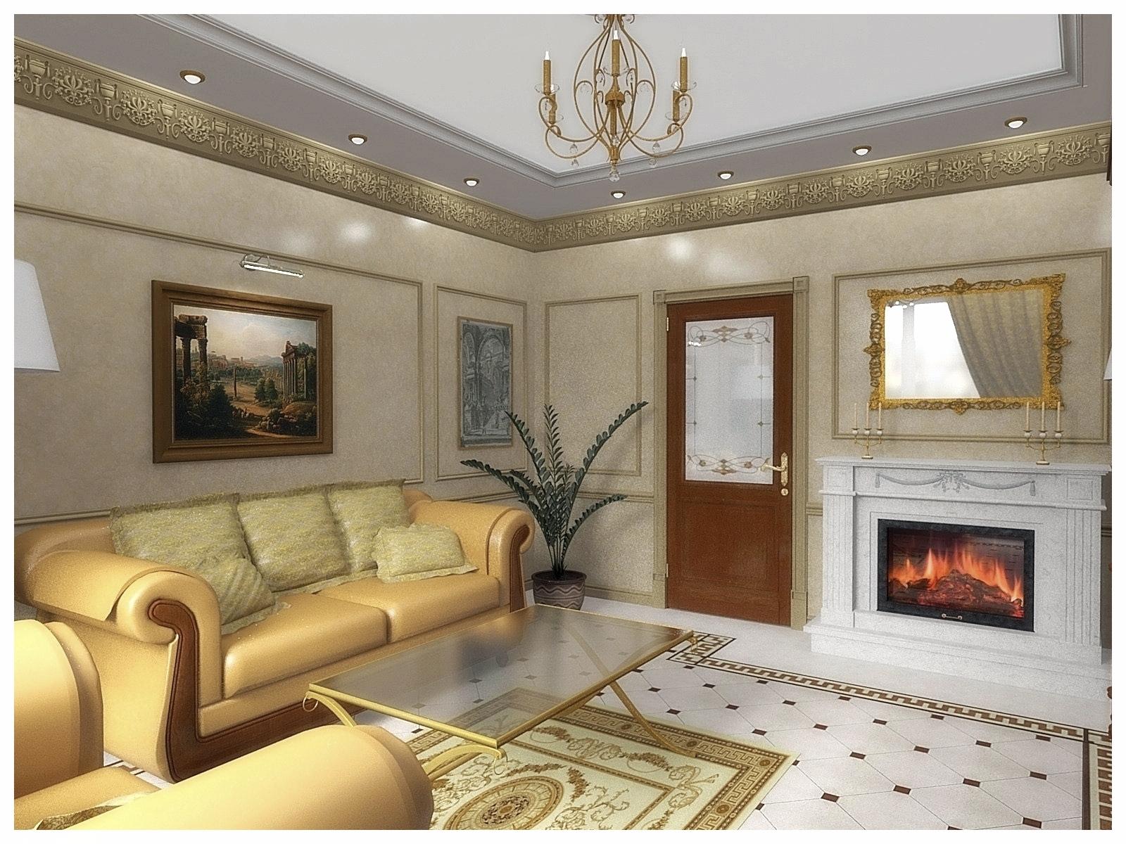 Дизайн интерьеров квартир. Гостиная 4.