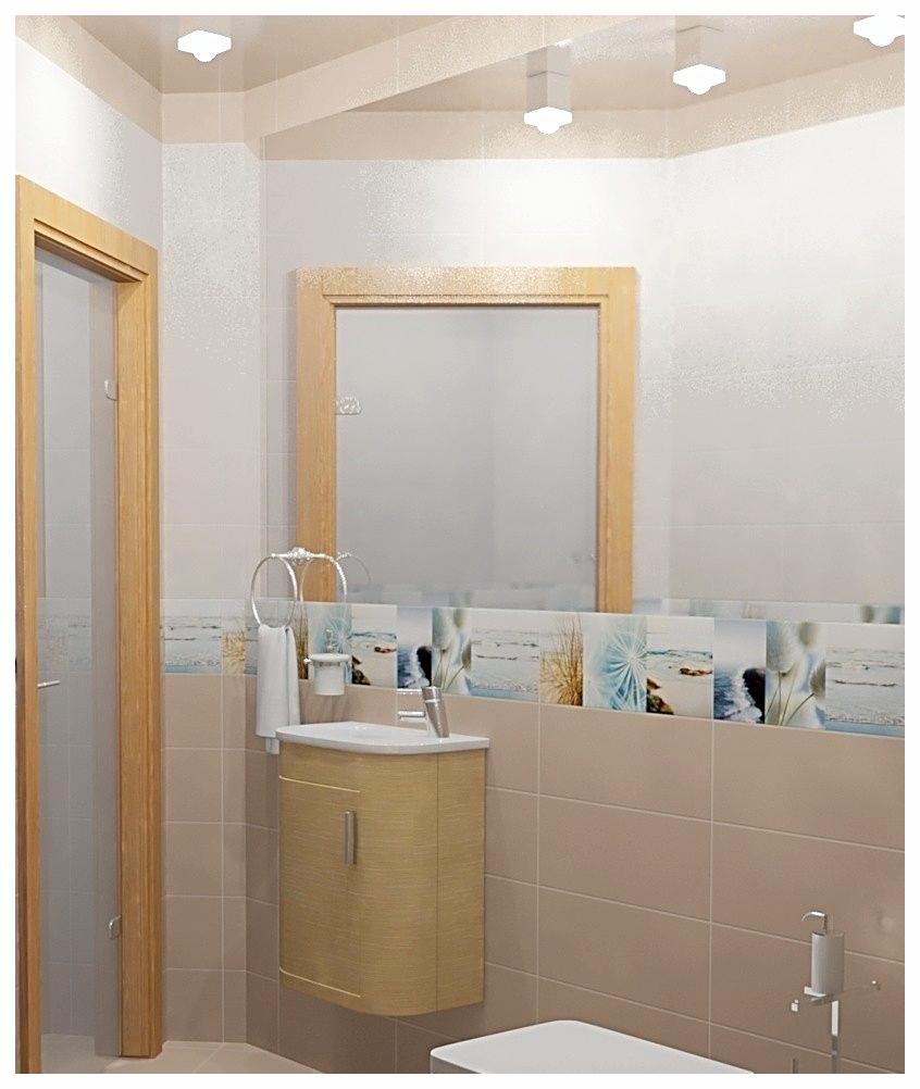 Дизайн интерьеров СПА. Туалет 1.
