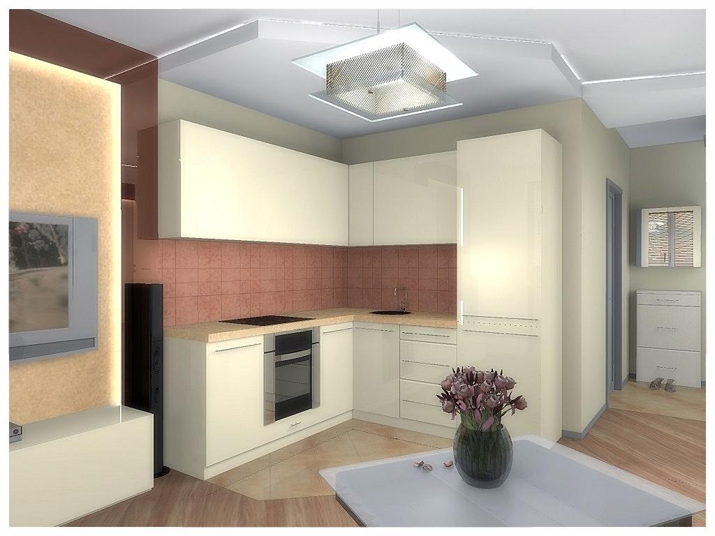 Дизайн интерьеров квартиры-студии 2.